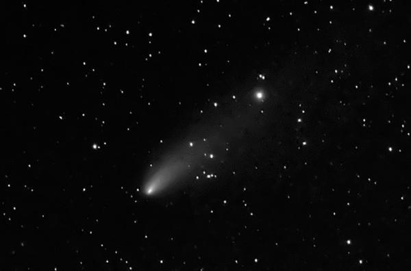"""รางวัลรองชนะเลิศอันดับ ๒ นายภูมิภาค เส็งสาย ชื่อภาพ """"Comet Linear C/2012 K5"""""""