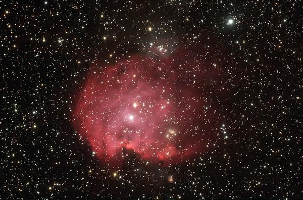 """รางวัลรองชนะเลิศอันดับ ๑ นายสมหมาย สระแก้ว ชื่อภาพ """"เนบิวลาหน้าลิง NGC 2174 - 2175"""""""