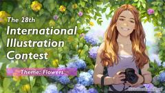 """ประกวด """"The 28th International Illustration Contest"""""""