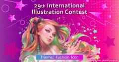 """ประกวด """"29th International Illustration Contest"""""""