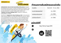 แข่งขัน International Business Case โครงการ Maybank Go Ahead Challenge 2019