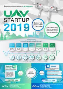 ประกวดธุรกิจนวัตกรรม UAV StartUp 2019