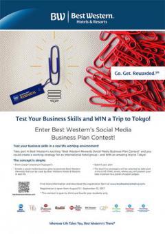 """ประกวดแผนธุรกิจบนโซเชียลมีเดีย """"BWR Social Media Business Contest 2017"""""""