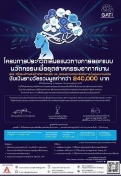 """ประกวดเสนอแนวทางการออกแบบนวัตกรรมเพื่ออุตสาหกรรมอากาศยาน ครั้งที่ 1 """"GATI Competition Season 1: Aerospace Innovation Challenges"""""""
