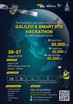 """แข่งขัน """"GALILEO & SMART RTK HACKATHON Thailand"""""""
