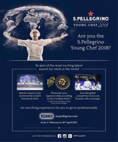 """แข่งขันทำอาหารระดับโลก """"S.Pellegrino Young Chef 2018"""""""