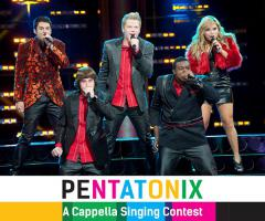 "ประกวด ""PENTATONIX A Cappella singing contest"""