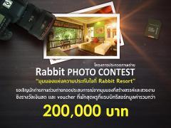 """ประกวดภาพถ่าย """"Rabbit PHOTO CONTEST"""""""