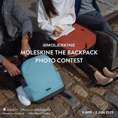"""ประกวดภาพถ่าย """"Moleskine The Backpack Photo Contest"""""""