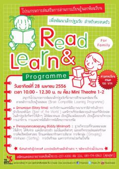 Programme Read & Learn For Family